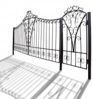 """Ворота и калитка """"Светлица"""" 4м"""